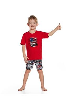 "Chlapecké pyžamo Cornette ""America"" Young and Kids 789/53"