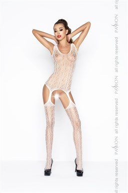 Bodystocking Passion BS043W bílá