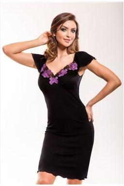 Noční košilka Hamana Salomea black