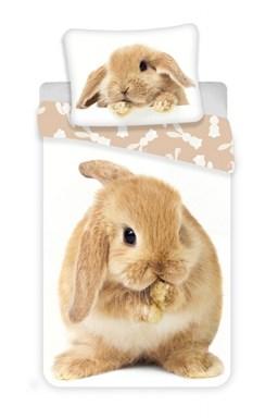 Povlečení fototisk Bunny brown