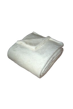 Super soft deka Dadka bílá