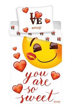 "Povlečení Emoji ""You are so sweet"""