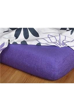 Froté prostěradlo  purpur C