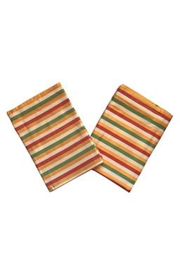 Utěrky Bambus Pruh žlutý - 3 ks