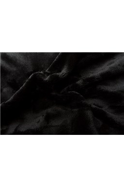 Prostěradlo mikroflanel černá