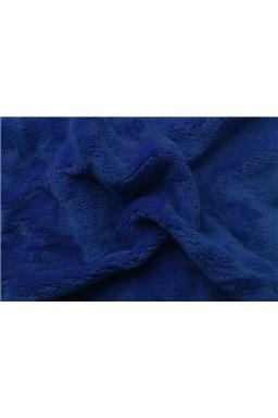 Prostěradlo mikroflanel tmavě modrá