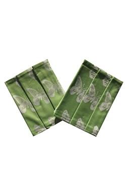 Utěrka Extra savá 50x70 Motýlci - zelená - 3 ks