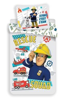 """Disney povlečení do postýlky Požárník Sam """"Rescue squad"""" baby"""