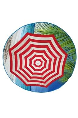 Plážová osuška kruh Slunečník
