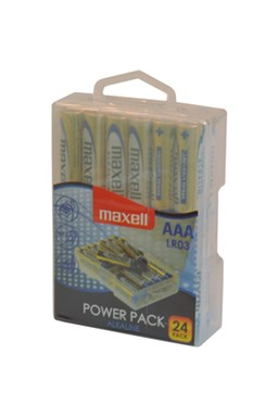 Baterie LR03 24BP AAA Power Alk MAXELL