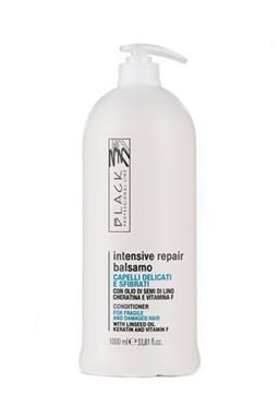 BLACK Intensive Repair Balsamo 1000ml - regenerační balzám pro citlivé a poškozené vlasy
