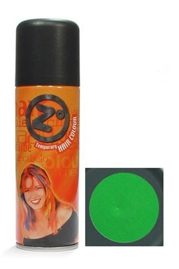 Z GOOD MARK Barva na vlasy ve spreji - Barevný lak na vlasy zelený