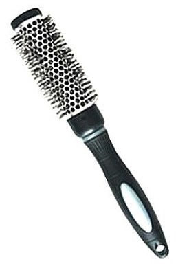 DUKO Kartáče Kadeřnický kulatý vyhřívací kartáč na vlasy Black 25mm