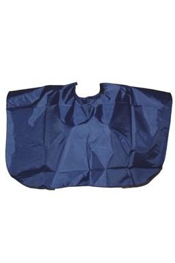 Kadeřnické pláště Kadeřnická střihací pláštěnka krátká - modrá
