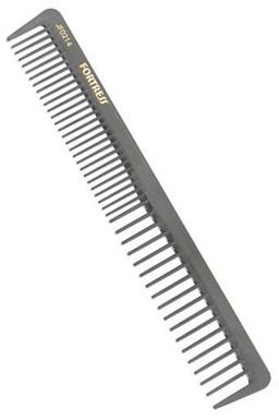 FORTRESS JF0214 Kadeřnický karbonový hřeben na vlasy JF0214