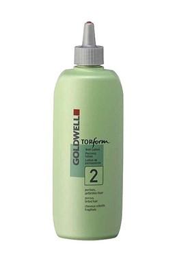 GOLDWELL Top Form 2 - Trvalá ondulace mírně alkalická pro narušené vlasy 500ml