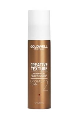 GOLDWELL Texture Crystal Turn 100ml - Pružný gelový vosk pro zvýraznění a úpravu vlasů