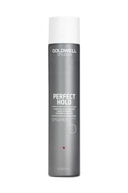 GOLDWELL Perfect Hold Sprayer Hair Lacquer 500ml - silně zpevňující lak na vlasy