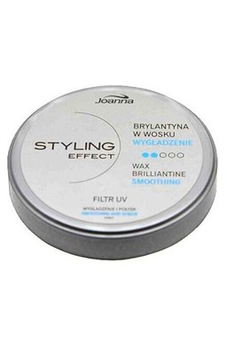 JOANNA Styling Wax Brilliantine 45g - Brilantina vosk pro hebkost a lesk