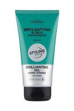 JOANNA Styling Effect Gel Brilliantine 150ml - Brilantina gel pro lesk a silné zpevnění