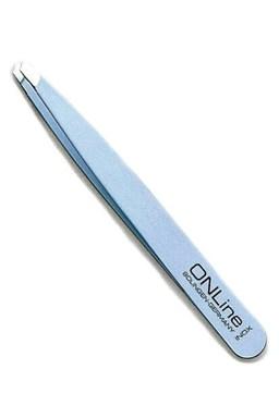 WITTE Solingen Kosmetická pinzeta šikmá modrá ONL 102  délka 9cm