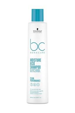 SCHWARZKOPF BC Hyaluronic Moisture Kick Shampoo 250ml - šampon pro suché a trvalené vlasy