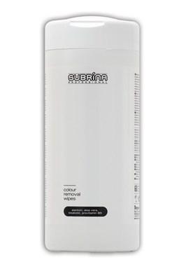 SUBRINA Pomůcky Colour Removal Wipes - čistící ubrousky na odstraňování barvy z pokožky 60ks