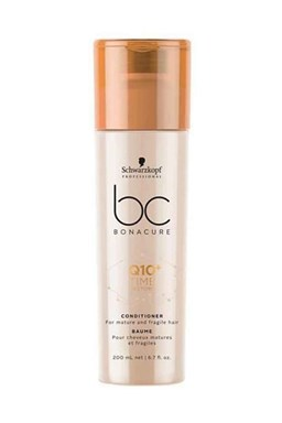 SCHWARZKOPF Bonacure Time Restore Q10 Conditioner 200ml - obnovující kondicionér na vlasy