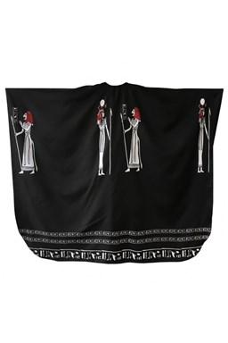 FOX Pláštěnky Kadeřnický střihací plášť Egypt - černá