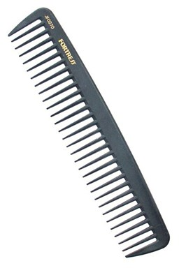 FORTRESS JF0270 Kadeřnický karbonový hřeben na vlasy JF0270