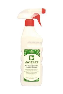 LAVOSEPT Gel Hydratační gel pro dezinfekci rukou a kůže 400ml - bez parfemace a barviv
