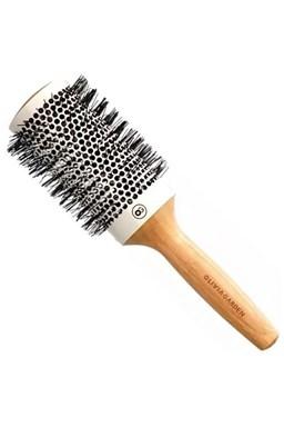 OLIVIA GARDEN Pro Cer Ionic HH-53 Keramický kulatý kartáč na vlasy s bambusovou rukojetí
