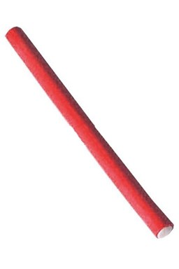 DUKO Natáčky Kadeřnické papiloty na vlasy průměr 12mm - červené 10ks