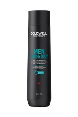 GOLDWELL Dualsenses Men Refreshing Hair And Body Gel Shampoo  300ml