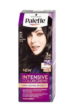 SCHWARZKOPF Palette Intensive Color Creme - barva na vlasy - Černá N1