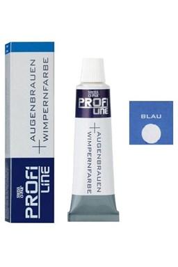 PROFI LINE Barvy Profesionální barva na řasy a obočí - Modrá