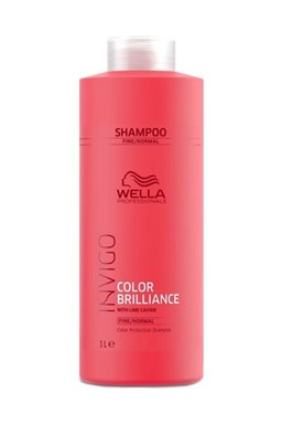 WELLA Invigo Brilliance Color Shampoo Fine Normal 1000ml - šampon pro barvené vlasy