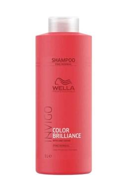 WELLA Invigo Brilliance Color Conditioner Fine Normal 1000ml - balzám na barvené vlasy