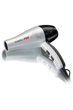 BABYLISS PRO 5559WTE PEARL HAIR DRYER PRO stylový profi lehký fén na vlasy - 2000W