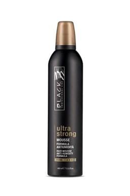 BLACK Styling Ultra Strong - pěnové tužidlo pro objem a lesk vlasů ultra tužící 400ml