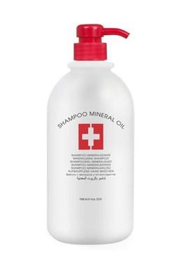 L´OVIEN ESSENTIAL Shampoo Mineral Oil regenerační šampon pro poškozené vlasy 1000ml