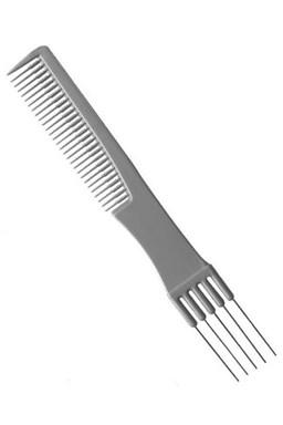 DUKO Hřebeny NANO IONIC Tupírovací hřeben profesionální 5 kovových hrotů - 190mm
