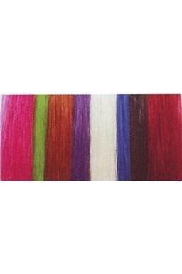 SIMPLY PERFECT Vlasový vzorník pramenů vlasů Human Hair - Trendy vlasové prameny 4ks