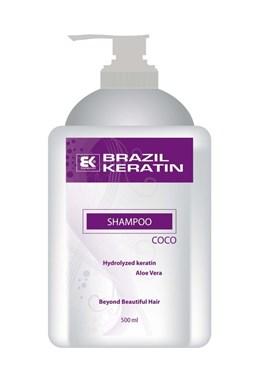 BRAZIL KERATIN Shampoo Coco čistící a hloubkově regenerující keratinový šampon 500ml