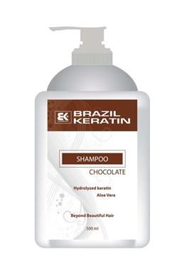 BRAZIL KERATIN Shampoo Chocolate hloubkově regenerující keratinový šampon 500ml