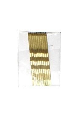 DUKO Sponky na vlasy 5cm - zlaté