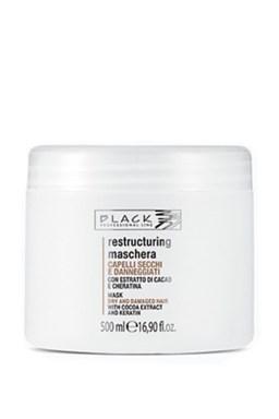BLACK Chocolate And Keratin Mask keratinová maska na poškozené vlasy 500ml