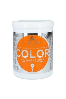 KALLOS KJMN Color Hair Mask 1000ml - maska na barvené a poškozené vlasy