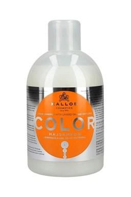 KALLOS KJMN Color Shampoo 1000ml - šampon na barvené a poškozené vlasy