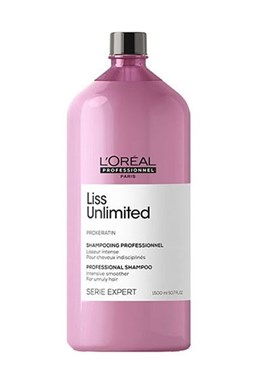 LOREAL Professionnel Expert Liss Unlimited Shampoo 1500ml - šampon pro nepoddajné vlasy
